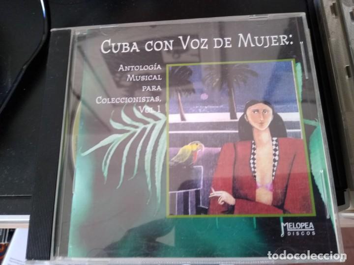 CUBA CON VOZ DE MUJER -GRABACIONES HISTORICAS RITA MONTANER -XIOMARA ALFARO Y MAS (Música - CD's Latina)