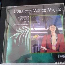 CDs de Música: CUBA CON VOZ DE MUJER -GRABACIONES HISTORICAS RITA MONTANER -XIOMARA ALFARO Y MAS. Lote 194863550