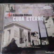 CDs de Música: CUBA ETERNO - LA COLECCION CUBANA CD VARIOS BENNY MORE ,BEBO VALDES ,ORQUESTA ARAGON Y OTROS . Lote 194863821