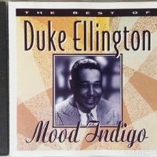 CDs de Música: DUKE ELLINGTON. MOOD INDIGO. THE BEST OF... CD. Lote 194863977