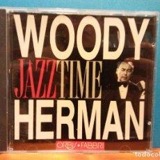 CDs de Música: WOODY HERMAN. JAZZTIME. ORBIS FABBRI. Lote 194864988