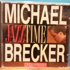 CDs de Música: MICHAEL BRECKER. JAZZTIME. ORBIS FABBRI. Lote 194865063
