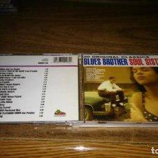 CDs de Música: BLUES BROTHER SOUL SISTER (JOHN LEE HOOKER, AL GREEN, MUDDY WATERS, ETC..). Lote 194866686
