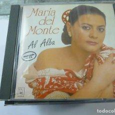 CDs de Música: MARÍA DEL MONTE - AL ALBA - CD 1991 - N. Lote 194871416