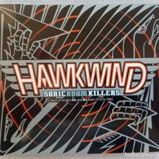 CDs de Música: HAWKWIND - SONIC BOOM KILLERS (BEST OF SINGLES AS & BS FROM 1970/80 - CD DIGIPAK 1998 - REPERTOIRE. Lote 194881116