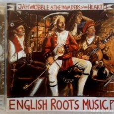 CDs de Música: JAH WOBBLE & THE INVADERS OF THE HEART - ENGLISH ROOTS MUSIC - UK CD 2003 - 30HERTZ . Lote 194883088