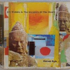 CDs de Música: JAH WOBBLE & THE INVADERS OF THE HEART - MOLAM DUB - UK CD 2000 - 30HERTZ . Lote 194884633