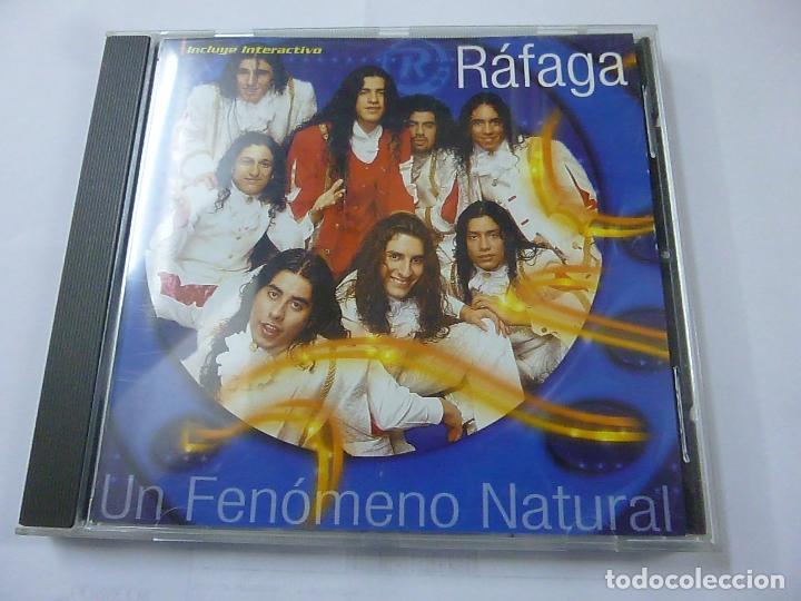 RAFAGA (UN FENOMENO NATURAL) CD 2000 - N (Música - CD's Otros Estilos)
