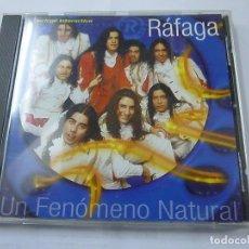 CDs de Música: RAFAGA (UN FENOMENO NATURAL) CD 2000 - N. Lote 194886136