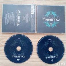 CDs de Música: THE BEST OF TIESTO - CD + DVD. Lote 194886357