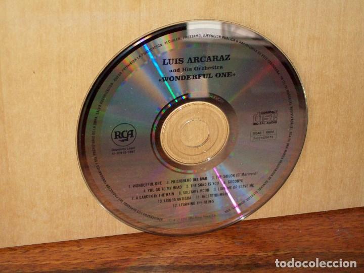 LUIS ALCARAZ AND HIS ORCHESTRA - WONDERFUL ONE - SOLO CD SIN CARATULAS (Música - CD's Otros Estilos)
