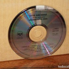 CDs de Música: LUIS ALCARAZ AND HIS ORCHESTRA - WONDERFUL ONE - SOLO CD SIN CARATULAS . Lote 194886652