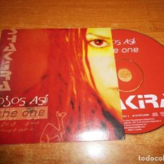 CDs de Música: SHAKIRA OJOS ASI / THE ONE CD SINGLE DEL AÑO 2003 AUSTRIA PORTADA DE CARTON CONTIENE 2 TEMAS. Lote 194888690
