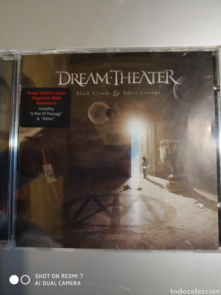 DREAM-THEATER. BLACK CLOUDS & SILVER LININGS (Música - CD's Otros Estilos)