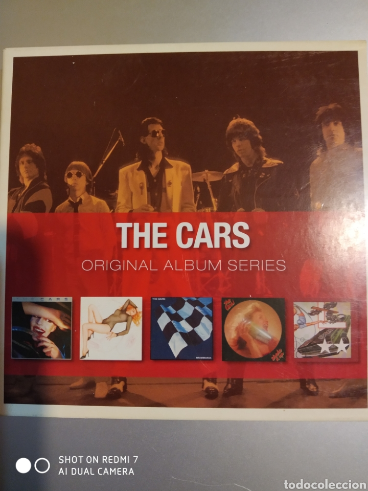 THE CARS. ORIGINAL ÁLBUM SERIES. SON 5 ÁLBUMES (Música - CD's Rock)
