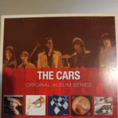 CDs de Música: THE CARS. ORIGINAL ÁLBUM SERIES. SON 5 ÁLBUMES. Lote 194894215