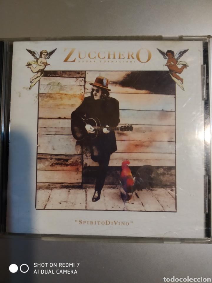 ZUCCHERO SUGAR FORNACIARI. SPIRITODIVINO (Música - CD's Rock)