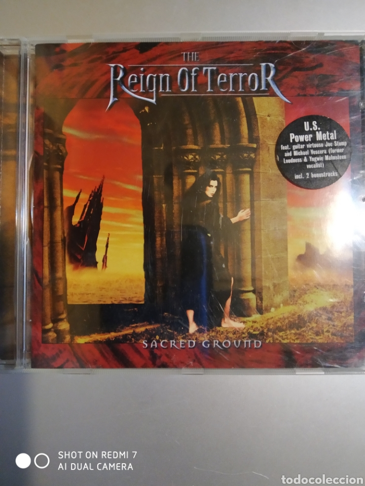 THE REIGN OF TERROR. SACRED GROUND (Música - CD's Otros Estilos)