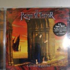 CDs de Música: THE REIGN OF TERROR. SACRED GROUND. Lote 194895586