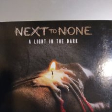CDs de Música: NEXT TO NONE. A LIGHT IN THE DARK. Lote 194895720