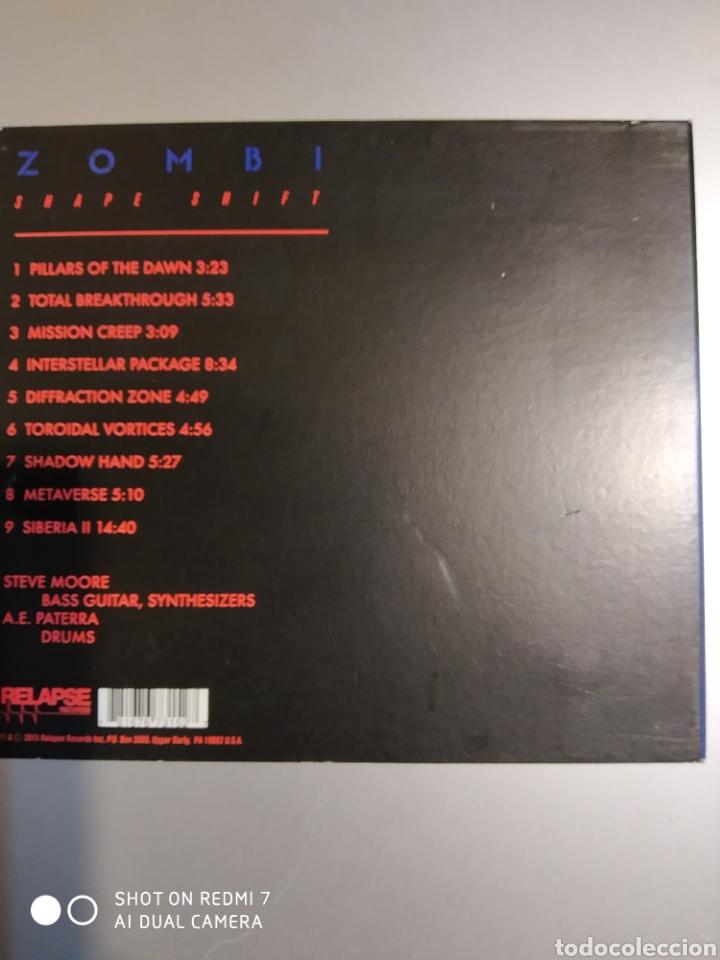CDs de Música: Zombie. Shape shift - Foto 3 - 194903480