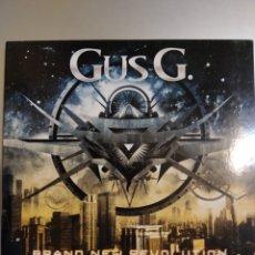 CDs de Música: GUS G. BRAND NEW REVOLUTION. Lote 194903600