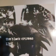 CDs de Música: THE BLACK CROWES. LIVE. Lote 194906308