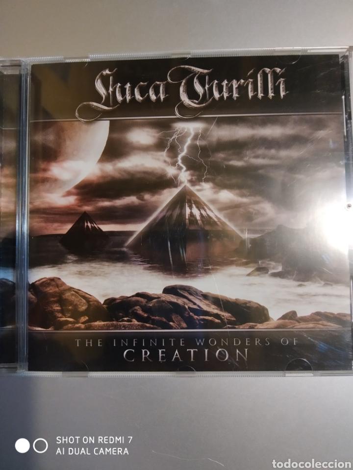 LUCA TURILLI. THE INFINITE WONDERS OF CREATION (Música - CD's Otros Estilos)