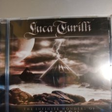 CDs de Música: LUCA TURILLI. THE INFINITE WONDERS OF CREATION. Lote 194906353