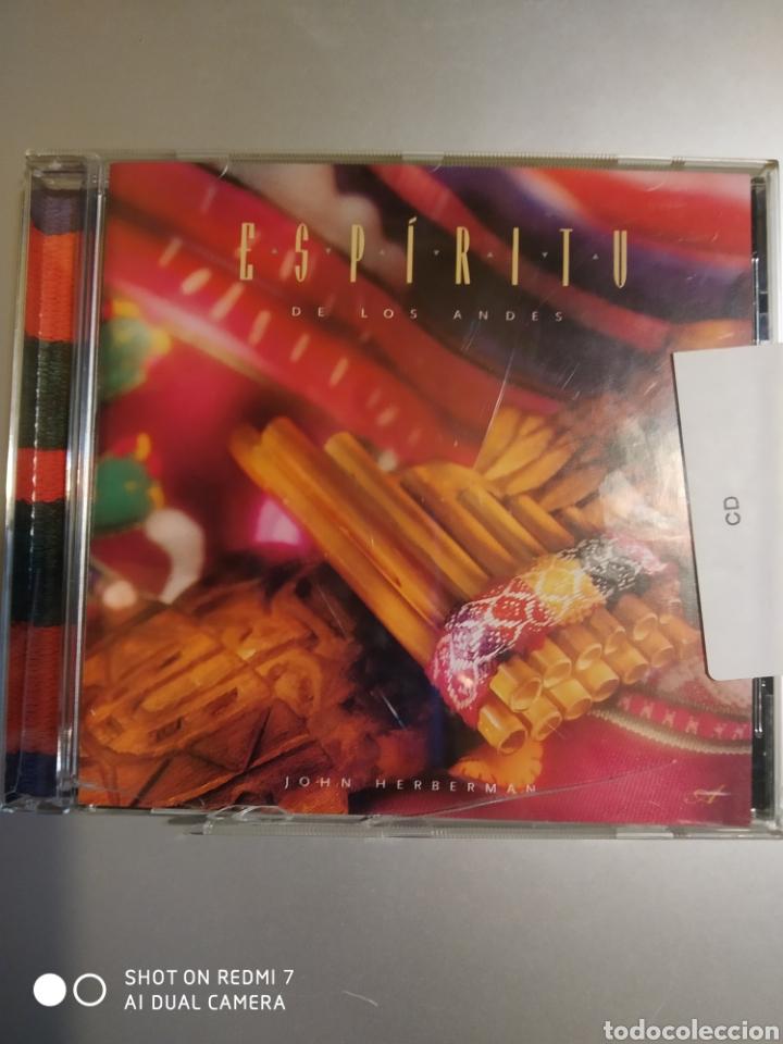 ESPÍRITU DE LOS ANDES (Música - CD's Otros Estilos)