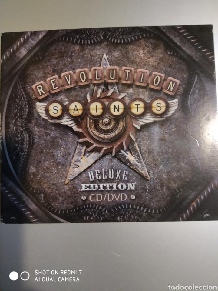 REVOLUTION . SAINTS. EDITION DE LUXE CD + DVD (Música - CD's Otros Estilos)