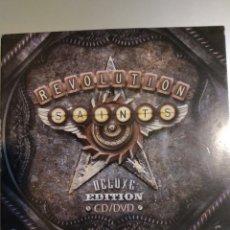 CDs de Música: REVOLUTION . SAINTS. EDITION DE LUXE CD + DVD. Lote 194906591