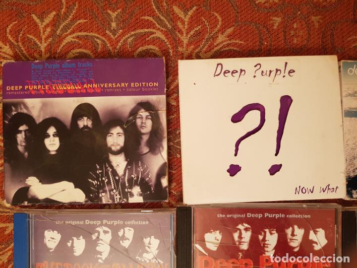CDs de Música: lote 8 cds deep purple ,remasterizados años 2000.VER DETALLEs y fotografias. - Foto 2 - 194906943