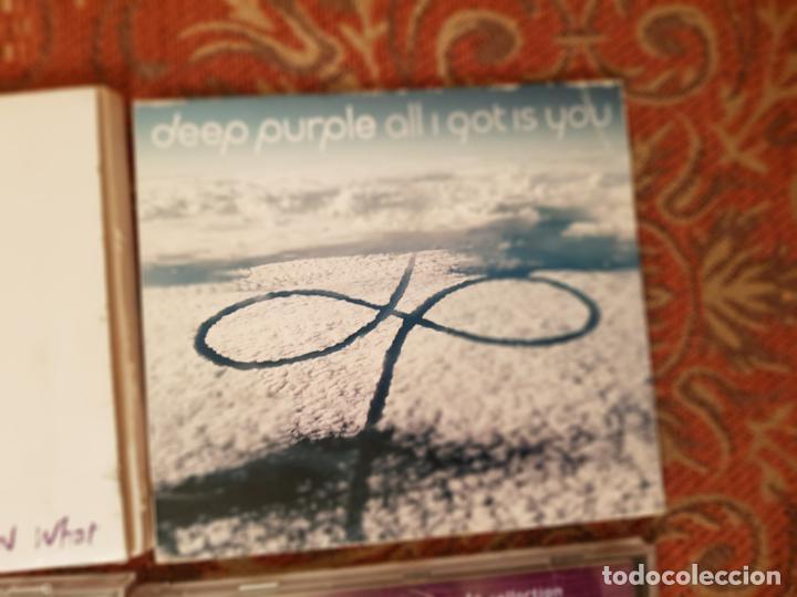 CDs de Música: lote 8 cds deep purple ,remasterizados años 2000.VER DETALLEs y fotografias. - Foto 3 - 194906943