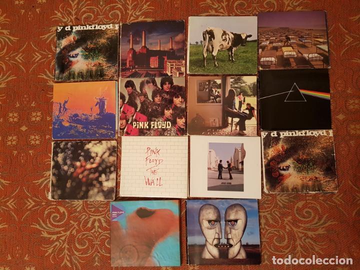 LOTE 14 CDS ESTUCHE PINK FLOYD .REMASTERIZADOS AÑOS 2000.VER DETALLES Y FOTOGRAFIAS. (Música - CD's Rock)