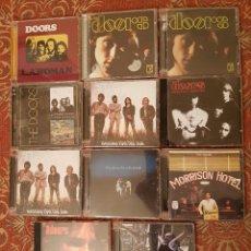 CDs de Música: LOTE 11 CDS THE DOORS .REMASTERIZADOS AÑOS 2000.VER DETALLES Y FOTOGRAFIAS.. Lote 194906978
