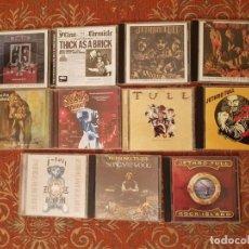 CDs de Música: LOTE 11 CDS JETHRO TULL .REMASTERIZADOS AÑOS 2000.VER DETALLES Y FOTOGRAFIAS.. Lote 194906992