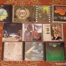 CDs de Música: LOTE 10 CDS,ESTUCHE YES .REMASTERIZADOS AÑOS 2000.VER DETALLES Y FOTOGRAFIAS.. Lote 194907013