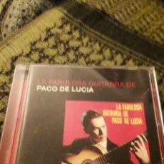 CDs de Música: LA FABULOSA GUITARRA DE PACO DE LUCÍA. EDICION DE 2005.. Lote 194907231
