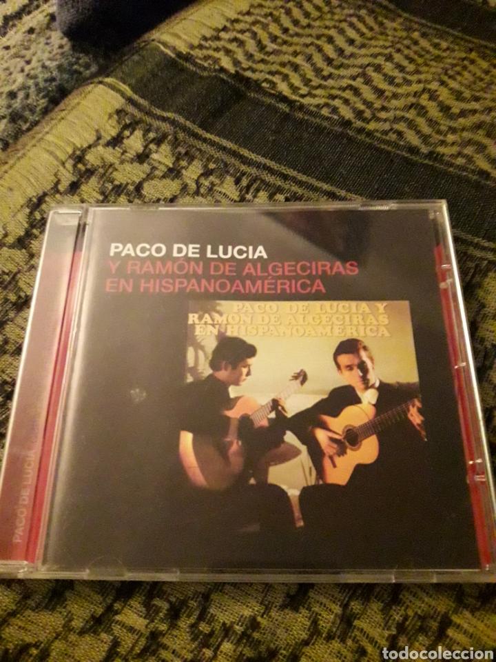 PACO DE LUCÍA Y RAMÓN DE ALGECIRAS EN HISPANOAMÉRICA. EDICION DE 2005. (Música - CD's Flamenco, Canción española y Cuplé)