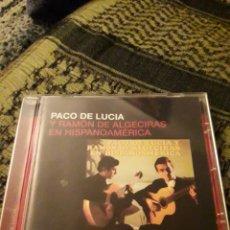 CDs de Música: PACO DE LUCÍA Y RAMÓN DE ALGECIRAS EN HISPANOAMÉRICA. EDICION DE 2005.. Lote 194907251