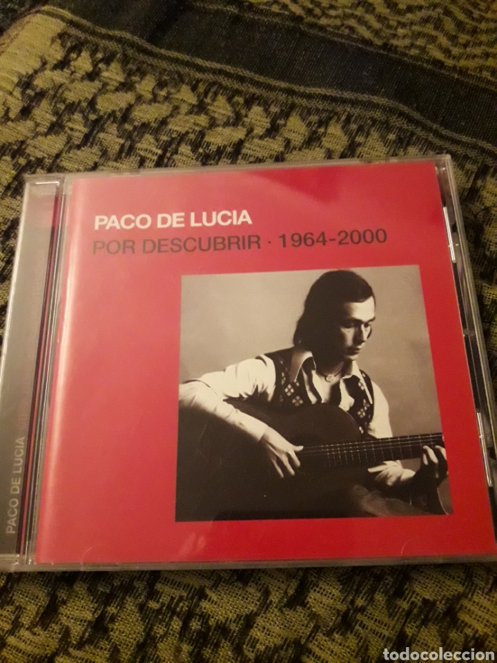 PACO DE LUCÍA. POR DESCUBRIR. 1964-2000. EDICION DE 2005 (Música - CD's Flamenco, Canción española y Cuplé)