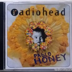 CDs de Música: RADIOHEAD. PABLO HONEY. PARLOPHONE, UE 1993 CD ORIGINAL. Lote 194913261