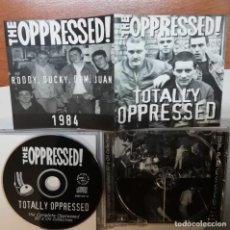 CDs de Música: THE OPPRESSED!- TOTALLY OPPRESSED CD 1999 COMPLETE 80'S OI! COLLECTION PUNK OI! SKINHEAD. Lote 194914248