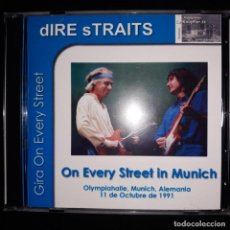 CDs de Música: DIRE STRAITS RARO CD ON EVERY STREETS IN MUNICH LIVE 1991 KNOPFLER. Lote 194919280