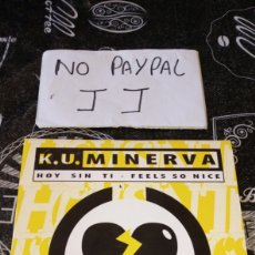 CDs de Música: CD PROMO KU K. U MINERVA HOY SIN TI CNR 1995. Lote 194928333