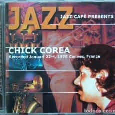 CDs de Música: JAZZ CAFÉ PRESENTS CHICK COREA. Lote 194946580