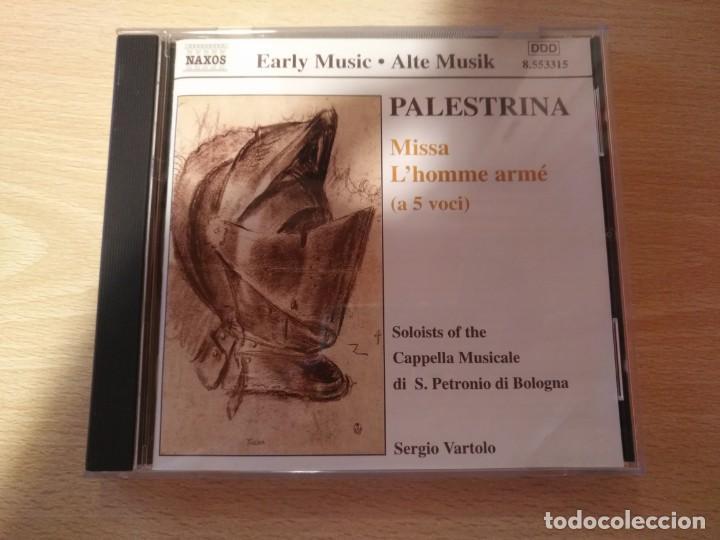 CD -PALESTRINA - MISSA L'HOMME ARMÉ ( A 5 VOCI) NAXOS (2000) (Música - CD's Clásica, Ópera, Zarzuela y Marchas)
