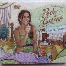 CDs de Música: IVETE SANGALO. MULTISHOW REGISTRO PODE ENTRAR. CD UNIVERSAL 60252739138. BRASIL 2009 POP. PRECINTADO. Lote 194953802
