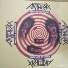 CDs de Música: ANTHRAX STATE OF EUPHORIA 2XCDS ESTUCHE EDITION SPECIAL. Lote 194960393